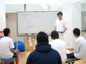 IMG 1717 300x224 【スタッフブログ】 「高校生のためのスポーツクリニック」を開催しました!